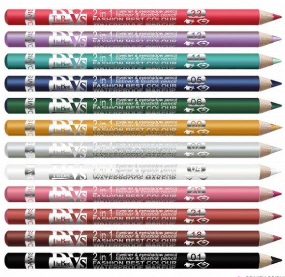 Crayon Eye liner -Lip liner waterproof