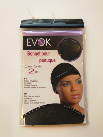 EVOK Sous-bonnet pour perruque lot de 2
