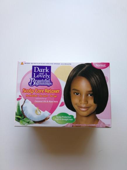 DARK & LOVELY -ENFANT Beautiful beginnings - Relaxant pour les soins du cuir chevelu Normal