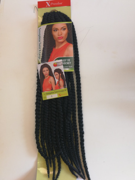 MÈCHES X-PRESSION SENEGALESE TWIST X-LARGE 24