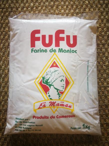 FUFU - Farine de Manioc du Cameroun -1 KG