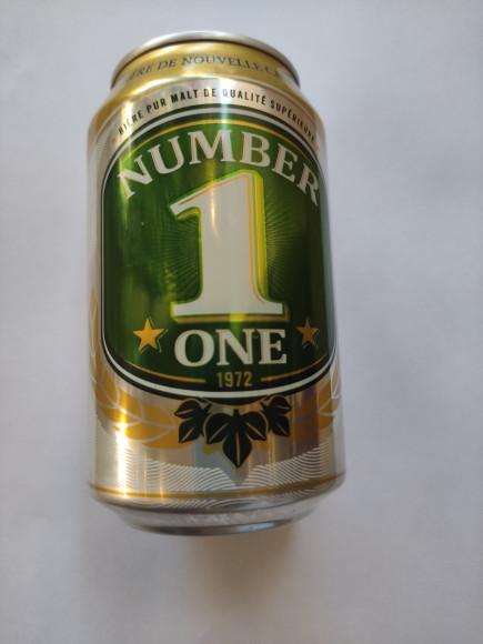 Bière Number one 33 cl Nouvelle Calédonie
