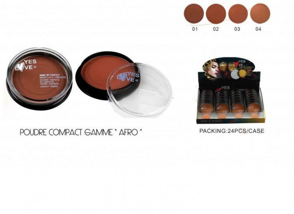 POUDRE COMPACT YES LOVE AFRO