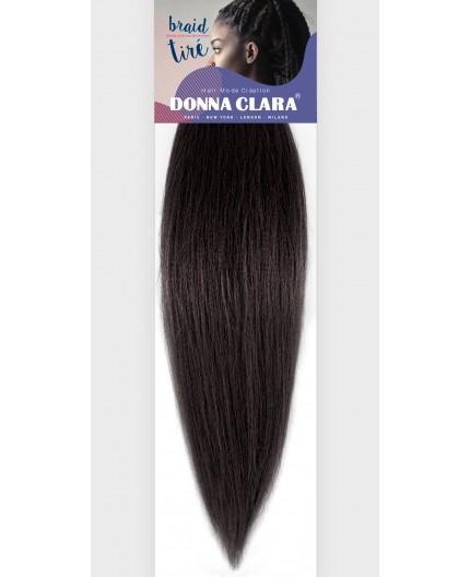 Donna Clara Braid Tiré noir 18