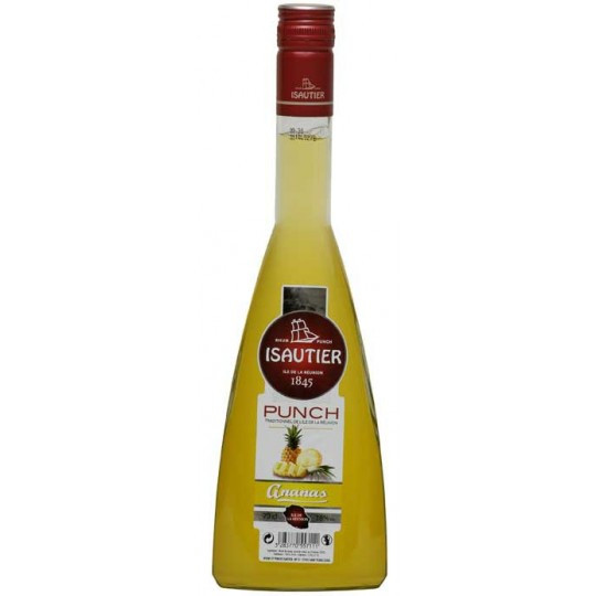 Punch ananas Isautier 70cl 18°