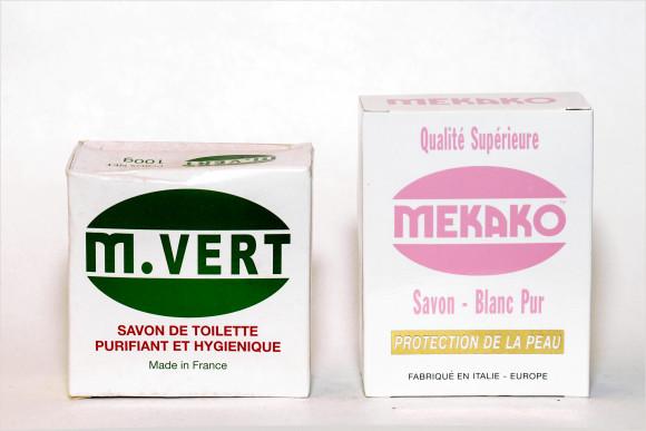 M.VERT SAVON DE TOILETTE PURIFIANT ET HYGIÉNIQUE 100g