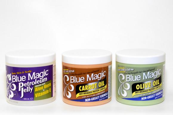 BLUE MAGIC POT 390gr - OLIVE OIL ANTI-BREAKAGE PROTEIN COMPLEX