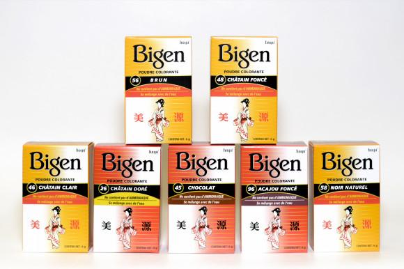 BIGEN - Poudre Colorante Sans ammoniaque. Parfait sur cheveux blancs.