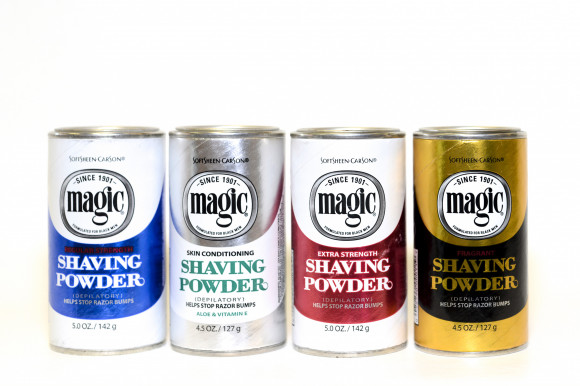 Magic - Poudre Rasage Bleu - Shaving Powder Blue 142 gr