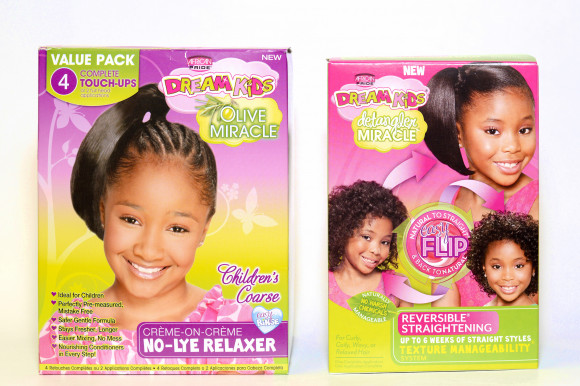 AFRICAN PRIDE Dream Kids - Kit défrisant 4 applications NO-LYE RELAXER