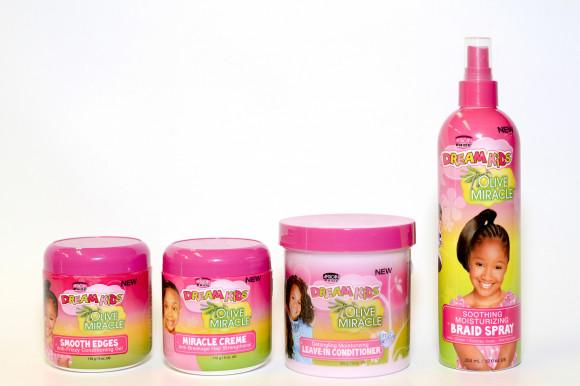 AFRICAN PRIDE Dream Kids - Spray apaisant cuir chevelu 355ml (Braid spray)
