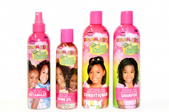 AFRICAN PRIDE Dream Kids - Huile Multi-Usages - Soothe Restore And Shine Oil