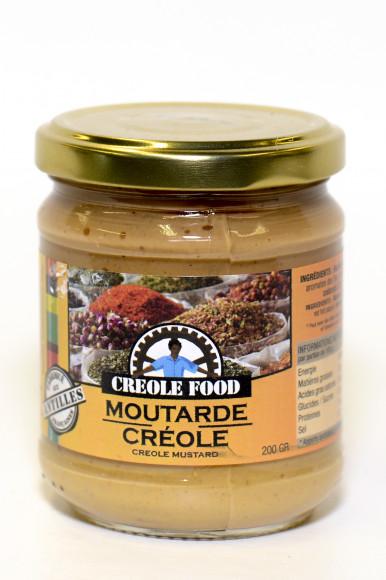 CRÉOLE FOOD - MOUTARDE CRÉOLE 200G