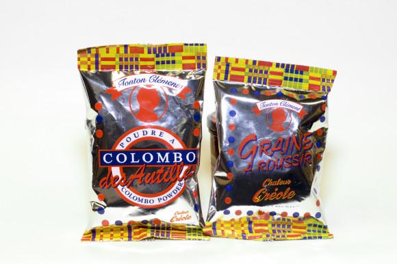 CHALEUR CRÉOLE - POUDRE A COLOMBO 100G