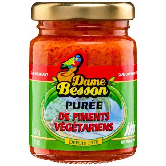 Purée de piment végétarien Dame Besson 90gr